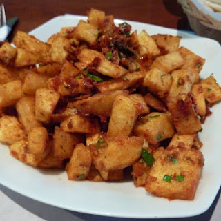Spicy Potatoes.