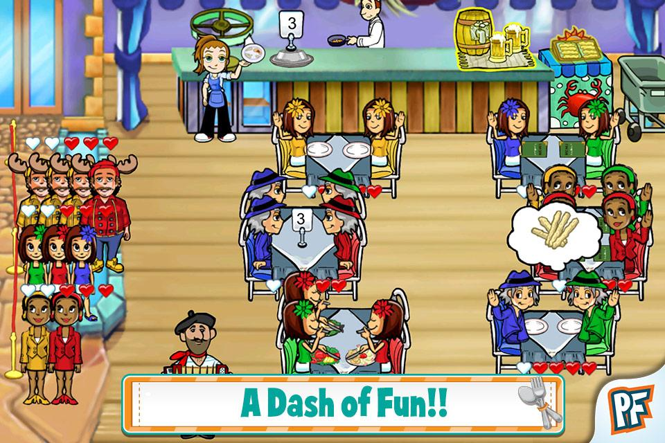 Diner Dash Deluxe - screenshot
