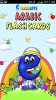 Screenshot of Arabic Flash Cards for Kids