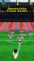 Screenshot of Pixel Soccer - Flick Free Kick