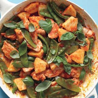 Red-Curry Chicken Stir-Fry.