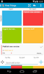 MyEffectiveness: Tasks, To-do - screenshot thumbnail