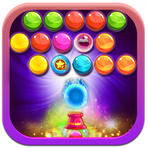 Candy Bubble Shooter Magic 休閒 App LOGO-APP試玩