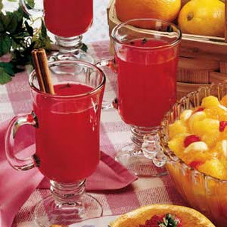 Hot Cranberry Drink.
