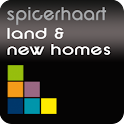 Land & New Homes Property Sear logo