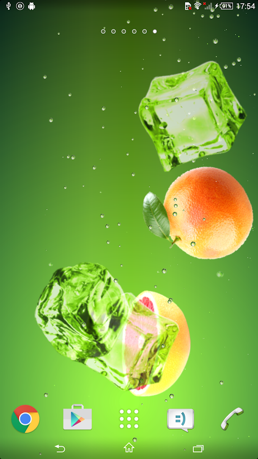 Grapefruit juice- screenshot