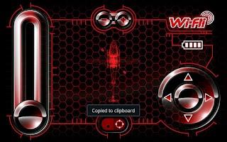 Screenshot of WiFli Control