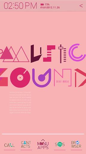 Typo Pink atom theme