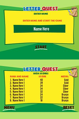 Letter Quest- screenshot