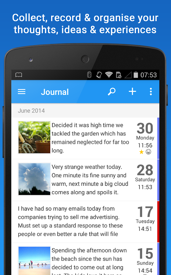 Day Journal: Personal Diary- screenshot