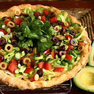 Lentil Taco Pie