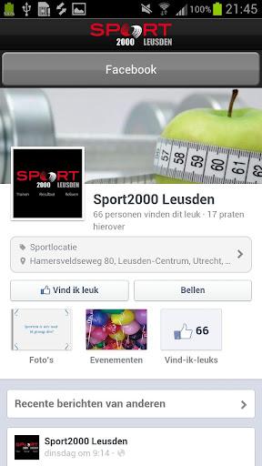 【免費健康App】Sport 2000 Leusden-APP點子