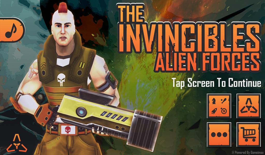 The Invincibles Alien Forces - screenshot