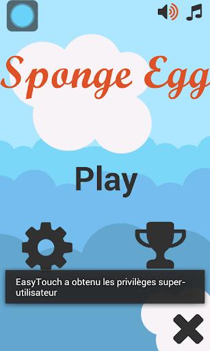 Sponge Egg Bob