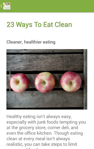 Clean Eating for Life