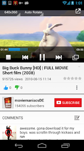 SuperTube Popup YouTube Player - screenshot thumbnail