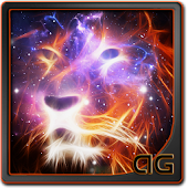 Starfield Lion Galaxy LWP