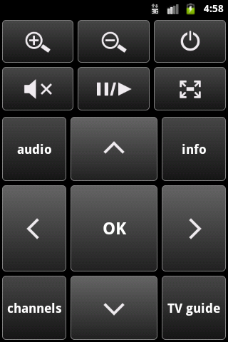 IP-TV Player Remote - screenshot