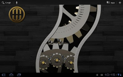 Luxus Ebony HQ Clock Widget APK screenshot thumbnail 5