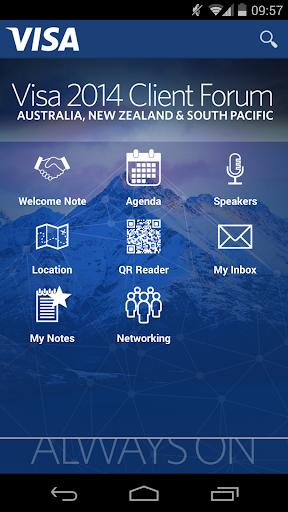 Visa Client Forum 2014
