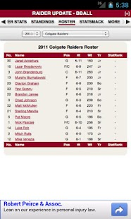 Colgate Football & Basketball - screenshot thumbnail