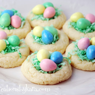 Easter Recipe- Nest Cookies
