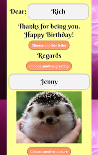 Birthday eCard- screenshot thumbnail