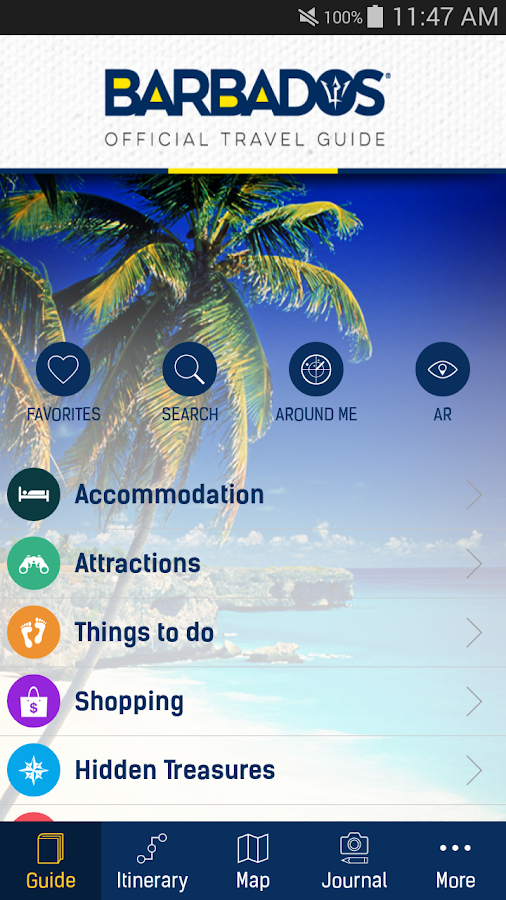Barbados Official Travel Guide- screenshot