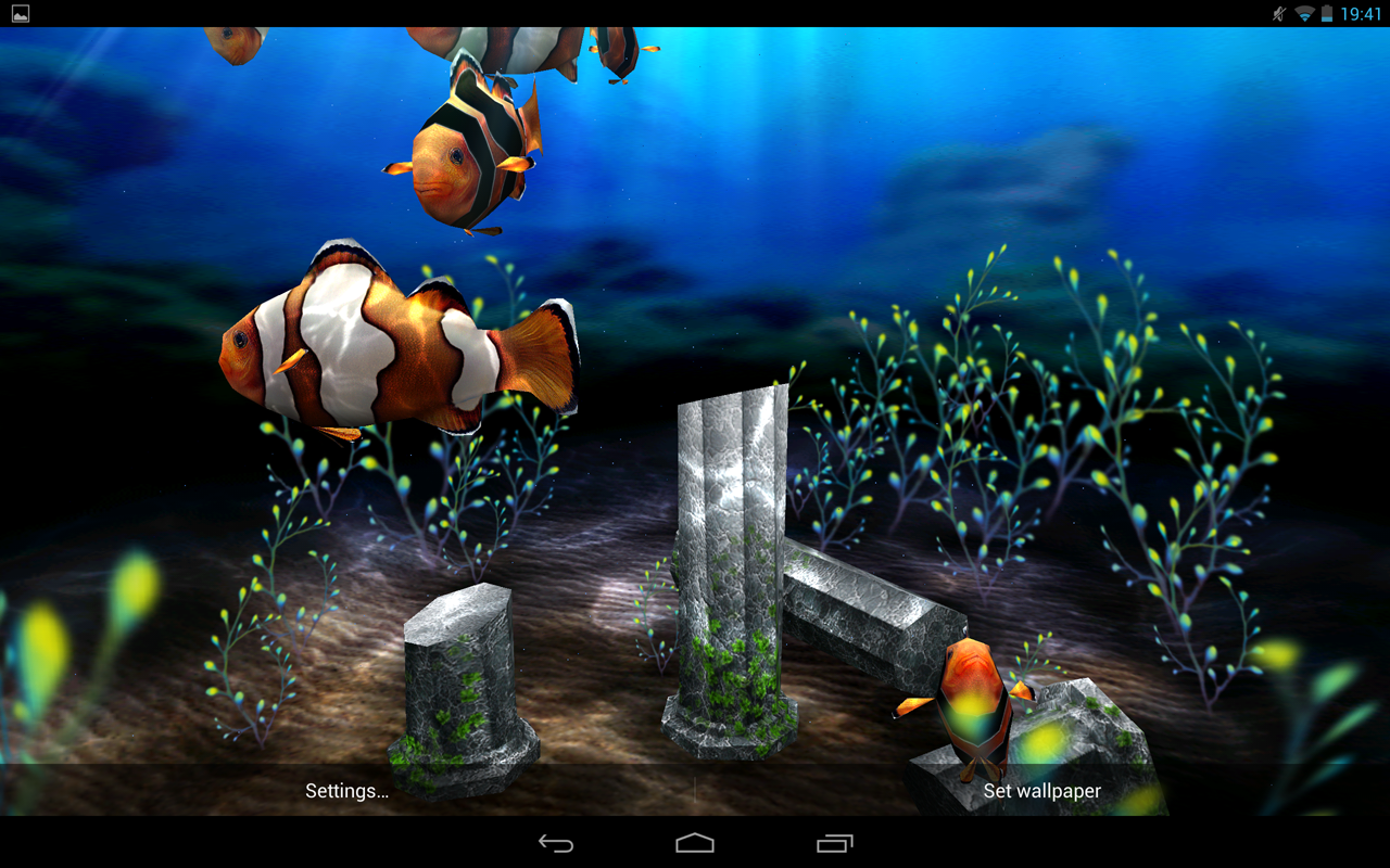 My 3d fish ii android apps auf google play for Aquarium fish online