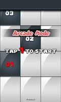 Screenshot of Numbers : Tap The Black Tile