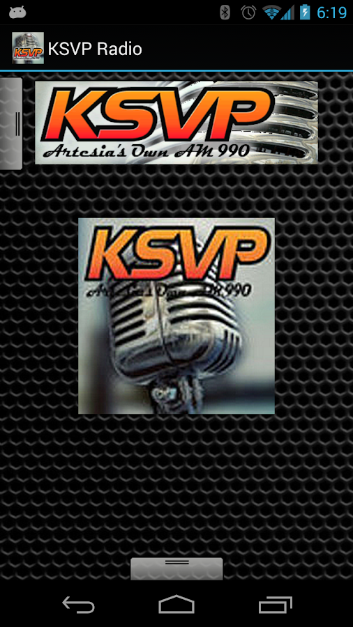 KSVP Radio - screenshot