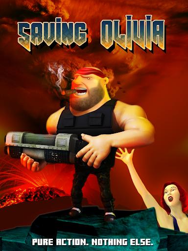 保存奧利維亞 - 射擊遊戲2D