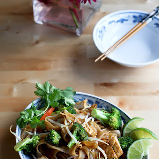 Easy Vegetable Pad Thai.