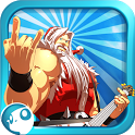 Santa Rockstar icon