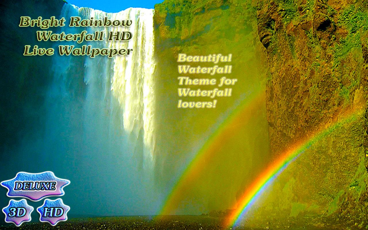Bright Rainbow Waterfall- screenshot