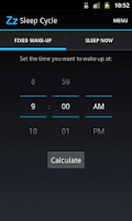 Screenshot of Sleep Cycle