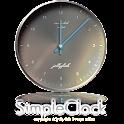 シンプルなアナログ時計ウィジェット