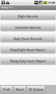 Skylog Pro- screenshot thumbnail