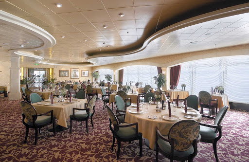 Explorer-of-the-Seas-Portofino-restaurant - Portofino restaurant aboard Explorer of the Seas offers guests a wide-ranging selection of Italian cuisine.