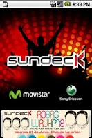Screenshot of Sundeck App