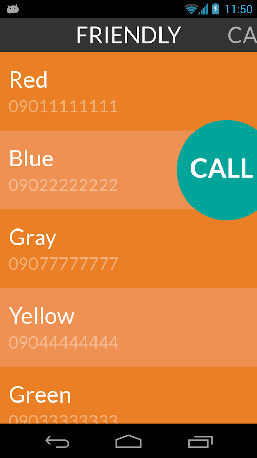 Caller - Simple Phone Book- screenshot