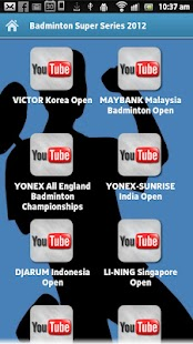 Badminton Super Series 2012 - screenshot thumbnail
