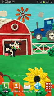 Plasticine Farm Live wallpaper - screenshot thumbnail
