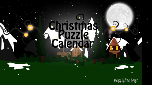 Christmas Puzzle Calendar