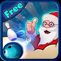 Santa Snow Bowling Free icon