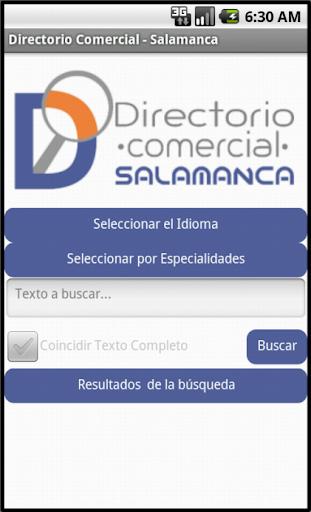 玩旅遊App Directorio Comercial Salamanca免費 APP試玩