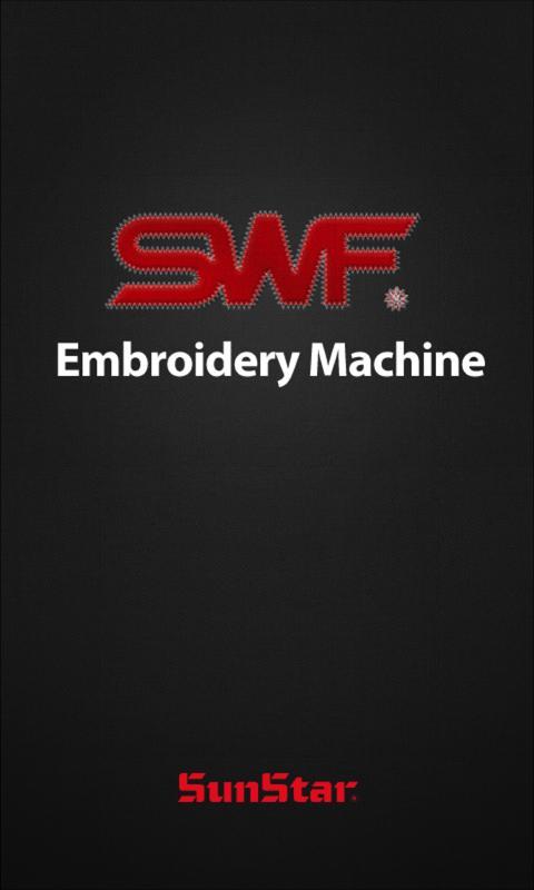 SWF Embroidery Machine - screenshot