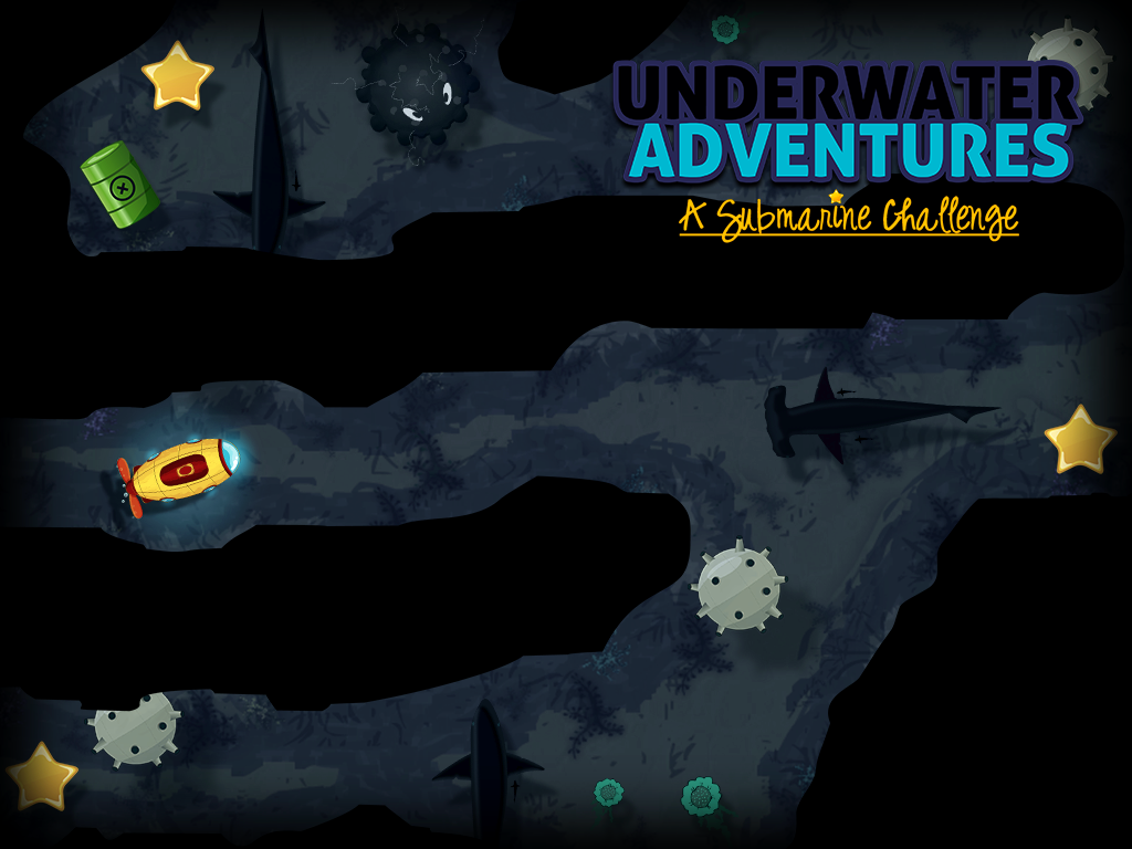Underwater Adventures Free - screenshot
