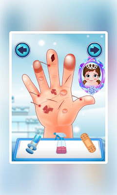 Ice Baby Hand Doctor:kids game - screenshot