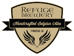 Logo for Refuge Brewery